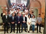 La Diputación de Albacete rinde homenaje a los empleados y las empleadas que recientemente han alcanzando la jubilación