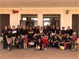 Bomberos de toda España participan en un curso de rescate en estructuras colapsadas celebrado en el Parque del SEPEI de La Roda
