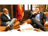 Santiago Cabañero se reúne con el nuevo director en funciones del Centro Asociado de la UNED en Albacete
