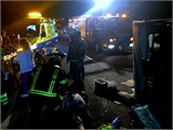 El SEPEI interviene en un accidente de tráfico sin víctimas mortales producido esta madrugada en la A-31 a la altura de Montalvos