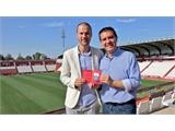 Santi Cabañero se suma al 'Somos Gente Orgullosa' y renueva su abono con el Albacete Balompié de cara a la próxima temporada