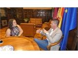 Santiago Cabañero se reúne con la alcaldesa de El Ballestero para conocer las principales demandas de la localidad