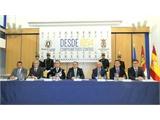 El presidente de la Diputación Provincial felicita a la Policía Local de Albacete coincidiendo con la celebración de su 165 cumpleaños