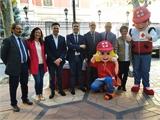 La Diputación de Albacete se suma al tradicional 'Día de la Banderita' de Cruz Roja Española, en favor de la Infancia