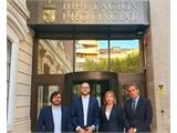 Francisco Valera traslada el apoyo de la Diputación a los pequeños y medianos  productores de energía fotovoltaica durante la IV Jornada de Anpier