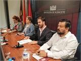 La ONCE elige la Diputación provincial como escenario para presentar su XXIX semana temática de sensibilización social