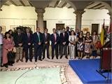 Caudete inaugura su V Bienal Internacional de Acuarela bajo la atenta mirada del diputado provincial de Cultura, Miguel Zamora
