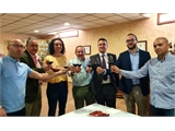 Francisco Valera reafirma el compromiso de la Diputación con el sector vitivinícola a través de convenios con las D.O.