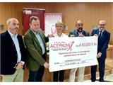 La Diputación acompaña a ACEPAIN en una nueva entrega de fondos al doctor Ocaña para la investigación contra el Cáncer
