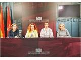 """García compromete el apoyo de la Diputación a AMAC  """"por tratarse de una asociación fundamental que ha conseguido trasladar un mensaje de esperanza"""