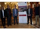 Cabañero visita la rehabilitación del Monasterio hellinero de los Franciscanos, enmarcada en la EDUSI y cofinanciada entre la Diputación y el FEDER