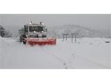 La Diputación emplea más de 80 toneladas de sal para facilitar la circulación en las carreteras de titularidad provincial