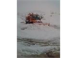 El operativo de emergencia de la Diputación sigue a pleno rendimiento para atajar los efectos de la nieve en las carreteras de la provincia