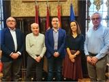 Cabañero se reúne con representantes de la Real Academia de Medicina de Castilla-La Mancha