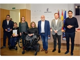 La Diputación muestra su apoyo al BSR AMIAB ante la eliminatoria que jugará en la fase previa de la Champions los días 31 de enero y 1 de febrero