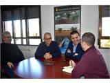 Cabañero comprueba en Albatana las mejoras que ha implementado el municipio con el apoyo de la Diputación