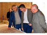 Cabañero visita algunas de las mejoras acometidas en Chinchilla de Montearagón a través del apoyo de la Diputación de Albacete