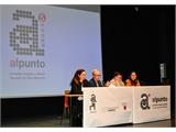 Jiménez participa en la inauguración de las Jornadas de Imagen y Diseño de la Escuela de Arte de Albacete