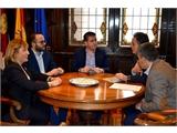 El presidente de la Diputación de Albacete mantiene una reunión con el delegado del Gobierno de España en C-LM