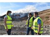 El incendio originado la tarde de este sábado en el CTRU está controlado y la Planta no tendrá problema para recibir los residuos de toda la provincia